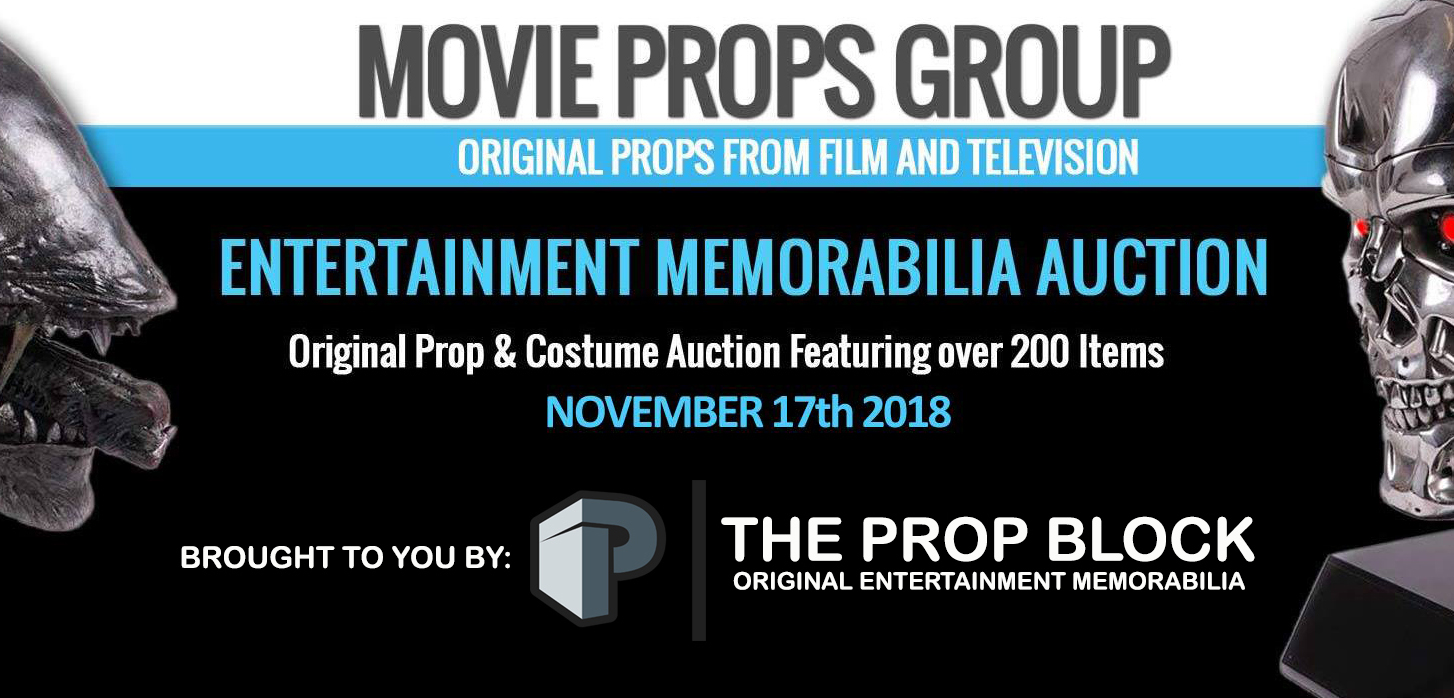 Movie Props Group Auction