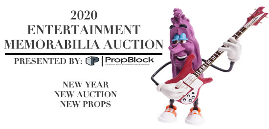 2020 Entertainment Memorabilia Auction